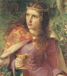 Eleanor of Aquitaine(1124–1204)-1 of the wealthiest & most powerful women in W. Europe during the Middle Ages. The only woman to have been queen of both France (1137) & England (1154), (exception of Margaret of Anjou whose status as Queen of France is disputed). Her father ensured that she had the best possible education. Contemporary sources praise Eleanor's beauty. Eleanor meshed & encouraged the ideas of troubadours, chivalry & courtly love into a single court.