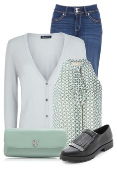 """""""Untitled #9908"""" by nanette-253 ❤ liked on Polyvore featuring мода, Levi's, Aquascutum, Tory Burch и Miista"""