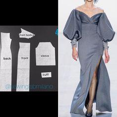 Clothing Patterns, Sewing Patterns, Long Dress Patterns, Fashion Drawing Dresses, Sewing Blouses, Column Dress, Fashion Sewing, Pattern Fashion, Sewing Tutorials