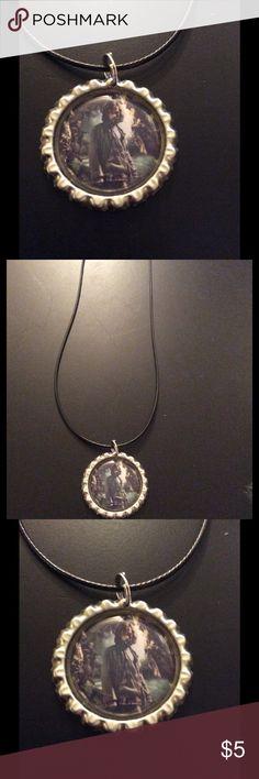 NWOT handmade HP Sirius bottle cap necklace NWOT handmade HP Sirius bottle cap necklace Jewelry Necklaces