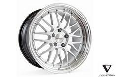 Varrstoen ES1 Wheels Hyper Silver Machined Lip 18x9.5 +35 5x100