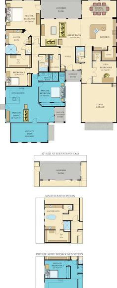 6584 Biltmore Next Gen New Home Plan in Layton Lakes: Vision by Lennar