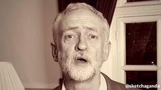 2 minutes of hate…GO! by Sketchaganda Jeremy Corbyn Jeremy Corbyn, Hate