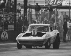 Vintage Drag Racing - Corvette