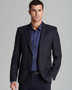 Hugo Boss Dark Grey Blazer