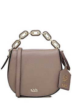 KARL LAGERFELD  K/Grainy Small Small Shoulder Bag | STYLEBOP.com