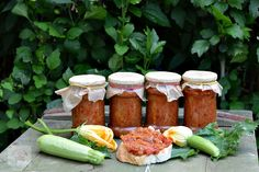 Zacusca de dovlecei - CAIETUL CU RETETE Ethnic Recipes, Food, Essen, Meals, Yemek, Eten
