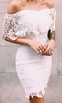 lace and tattoos