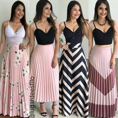 Swans Style is the top online fashion store for women. Shop sexy club dresses, jeans, shoes, bodysuits, skirts and more. Casual Summer Outfits, Modest Outfits, Skirt Outfits, Classy Outfits, Modest Fashion, Chic Outfits, Beautiful Outfits, Spring Outfits, Dress Skirt