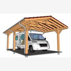Le plan de votre CARPORT / PRÉAUX / AUVENT sur mesure Plan Carport, Plane, Loft, Furniture, Home Decor, Car Shed, Wood Construction, Homemade Home Decor, Lofts