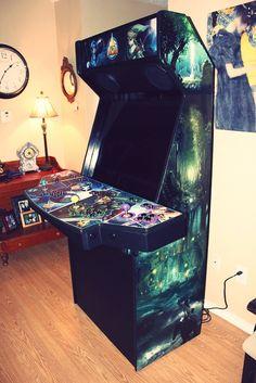 Megaman vs Link Custom Arcade cabinet!