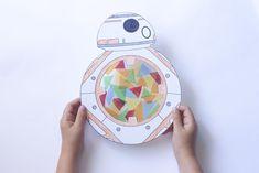 Manualidades para niños: Atrapaluz BB-8 | Cosas Molonas | DIY Blog