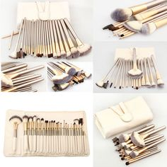 PCS Makeup Brushes Kit Cosmetic Make Up Set for Professional with Pouch Bag Case | Health & Beauty, Makeup, Makeup Tools & Accessories | eBay!