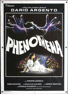 Phenomena by Dario Argento. Italian poster.