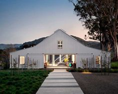 hupomone ranch in california includes a barn house by turnbull griffin haesloop