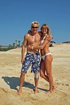 Mark and Carrie Sisson at 54 & 52 yrs old. Super inspiring! This is how I shall look at this age!!!