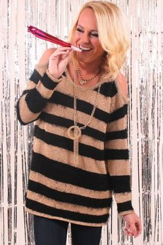 Mink Pink Golly Gosh Knitted Sweater