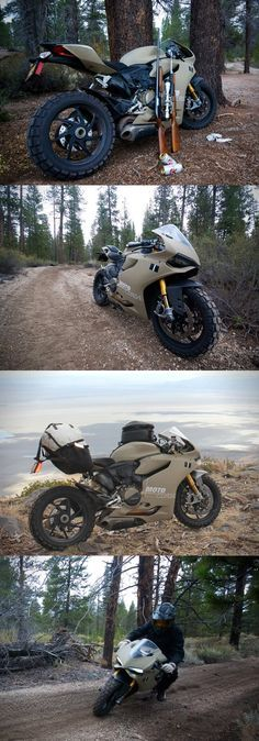 Ducati 1199 Panigale TerraCorsa Off-Road Superbike