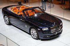 2016 Rolls-Royce Dawn revealed - exclusive studio pictures   Autocar