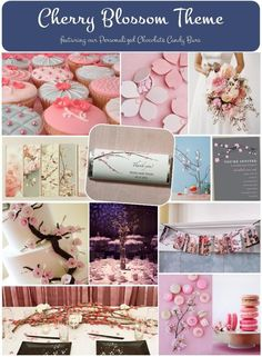 Cherry Blossom Theme - Gracious Bridal Wedding Blog
