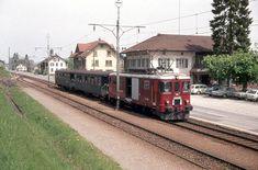 SBB Birrwil, Zug mit De 4/4, 1976