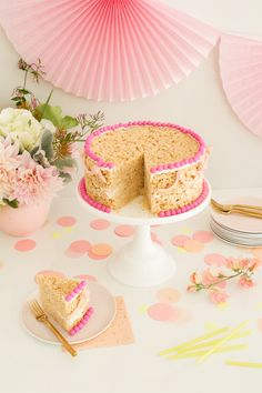 Rice Krispie Cake | Oh Happy Day!