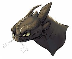 Toothless. :)