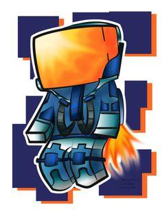 Minecraft Universe Fan Art!