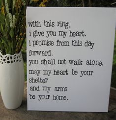 Trendy wedding vows that make you cry quotes brides Wedding Card Quotes, Wedding Signs, Wedding Cards, Our Wedding, Dream Wedding, Corpse Bride Wedding, Wedding Ideas, Wedding Ceremony, Wedding Readings