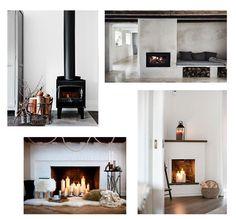 Alquimia Deco: Chimeneas para decorar y dar calor a nuestro hogar