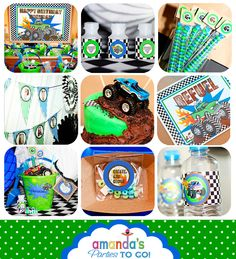 Monster Truck Party Printables