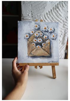 Small Canvas Paintings, Small Canvas Art, Mini Canvas Art, Mini Paintings, Original Paintings, Indian Paintings, Acrylic Paintings, Aesthetic Painting, Aesthetic Drawing