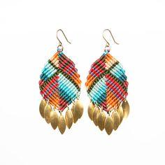 Malka Earrings by AMiRAjewelry on Etsy
