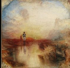 Joseph Mallord William Turner, War. <em>The Exile and the Rock Limpet</em>, exhibited 1842. Oil on canvas. Tate, ccepted by the nation as part of the Turner Bequest, 1856, N00529. Image © Tate, London 2015