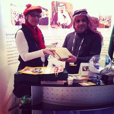 I Won the Kindle Touch at the Saudi-Arabia's Stand in Berlin 2011