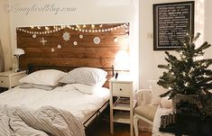 Beautiful Christmas Bedroom Touches-Christmas-Be