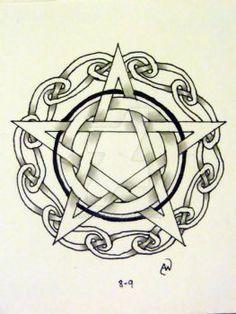 DeviantArt: More Like Elaborate Pentacle by dragon-jess