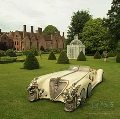Captain Nemo's car / Steampunk Tendencies Vw Bus, Los Cars, Vintage Cars, Antique Cars, Steampunk Design, Most Expensive Car, Hot Rides, Car In The World, Sport Cars
