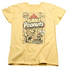 Dubble Bubble: Bubble Peanuts Women's T-Shirt