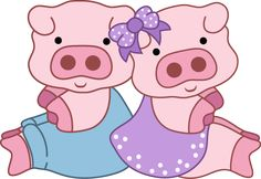 F Peppa Pig Printables, Farm Animals, Cute Animals, Pig Crafts, Pig Illustration, Pig Art, Year Of The Pig, Flying Pig, Cute Pigs