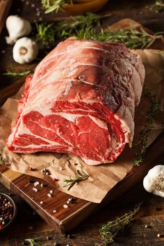 Raw Grass Fed Prime Rib Meat by Brent Hofacker on 500px