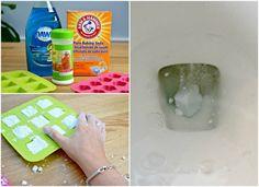 13 egyszerű takarítás tipp, amelyekkel ragyogóan tisztává varázsolhatod a fürdőszobád! - Ketkes.com Diy Cleaning Products, Baking Soda, Plastic Cutting Board, Soap, Pure Products, Soaps