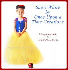 Infant Size - Snow White Inspired Princess Tutu Dress - Birthday Outfit, Halloween Costume - Newborn Baby 3 6 9 12 Months - Disney Inspired. $29.99, via Etsy.