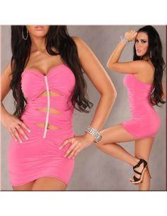 Sexy Bandeau Rhinestone Look Gogo Clubwear Pink Sexy Womens Sexy Club Wear Sexy Clothing Mini Club Dresses, Pink Mini Dresses, Party Dresses For Women, Cheap Dresses, Sexy Dresses, Pink Dress, Sleeveless Dresses, Venus Swimwear, Halloween Costumes For Girls