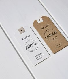 hang tags Bershka · 16 Hang Tags auf Behance Acne - Living La Vida Loca Now, the story I am abo Print Packaging, Packaging Design, Branding Design, Logo Design, Hangtag Design, Collateral Design, Branding Ideas, Web Design, Label Design
