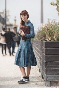 By Lord Ashbury in Paris (Tory Burch dress, Nike, Stella McCartney bag)