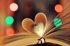 bokeh book heart by Holunder on DeviantArt Photography Ideas At Home, Motion Photography, Bokeh Photography, Still Life Photography, Abstract Photography, Creative Photography, Love Images, Beautiful Images, Photo Bokeh