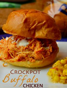 This is a simple set it and forget it crockpot Buffalo Chicken Recipe. If you have a slow cooker and love buffalo chicken, this recipe is for you.