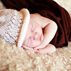 Sleeping Newborn in white hat. Newborns, Shag Rug, Little Ones, Neutral, Hats, Image, Fashion, Shaggy Rug, Moda