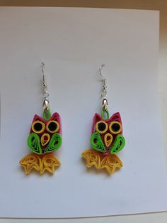 Quilling, Drop Earrings, Inspiration, Jewelry, Ideas, Fashion, Necklaces, Bedspreads, Biblical Inspiration